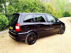 2005 Vauxhall/Opel Zafira GSI Turbo Black 7 seats Low Warranted Miles £5500