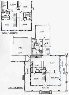 Plan 86229hh one story house plan with wrap around porch for 2 story house plans master down