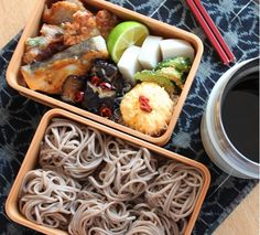 Japanese Lunch Box, Japanese Food, Bento Box Lunch, Coffee Break, No Cook Meals, Food And Drink, Snacks, Cooking, Recipes