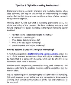 Are you looking for the best Digital Marketing Company in Auckland? Chalk n Cheese professional Digital Marketing Agency in Auckland. #DigitalMarketingCompanyinAuckland #Marketing #ChalknCheese #Auckland Best Marketing Companies, Best Digital Marketing Company, Marketing Tactics, The Marketing, What Is Work, Forms Of Communication, Marketing Professional, Meaning Of Life, Auckland