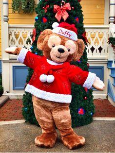 Duffy the Disney Bear - Merry Christmas from Disneyland Paris!