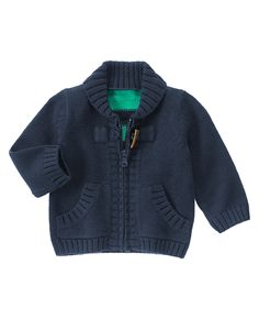 Striped Zip Sweater at Gymboree (Gymboree 0-24m)