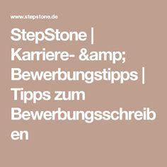 StepStone | Karriere- & Bewerbungstipps | Tipps zum Bewerbungsschreiben