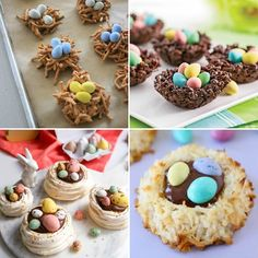 Cupcake de Pasqua (conills, ous i pollets) - totnens Cupcakes, Cereal, Breakfast, Desserts, Food, Sweets, Morning Coffee, Tailgate Desserts, Cupcake Cakes