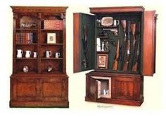 Hidden Gun Cabinet Plans - Bing Images