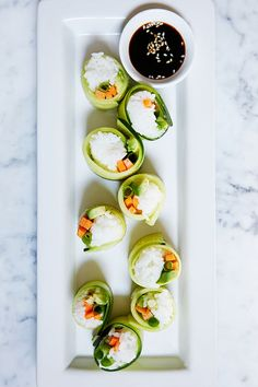 Veggie sushi. And 8 other ways to win the Super Bowl--without losing your waistline.
