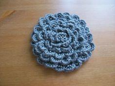 Crochet Brooch Flower Lovely Delicate Gift by WomanAccesories, $19.00