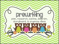 Owl Themed Writing Process Clip Chart - Who! Who!...knows where we are in the writing process?