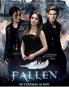 Fallen movie starring Addison Timlin, Jeremy Irvine, and Harrison Gilbertson Series Movies, Hd Movies, Movies Online, Movie Tv, Indie Movies, Comedy Movies, Action Movies, Fallen Series, Fallen Book