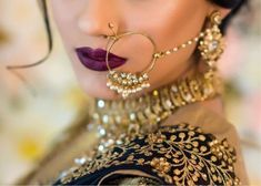 These stunning bridal nath designs are trending in 2018 and making an off-beat jewelry captivating.