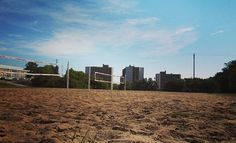 At Southeast, you don't have to go to the beach to stick your toes in the sand... #sandvolleyball #SEMOPerks