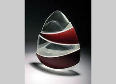 Obscure Impressions by Sally Fawkes. 2005. Cast glass.