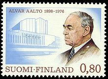 Alvar Aalto -  (February 3 1898, Kuortane – May 11 1976, Helsinki) was a Finnish architect and designer -Wikipedia, the free encyclopedia