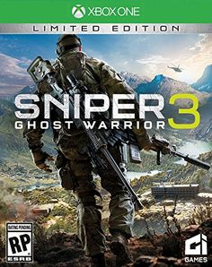 Sniper Ghost Warrior 3 Limited Edition Pre-Order For Xbox One (Physical Disc) Rp Games, Xbox One Games, Games 2017, Playstation, Sniper Ghost Warrior 3, First Person Shooter Games, Electronic Arts, Warriors Game, Version Francaise