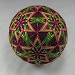 All My Temari, New Pink and Green (3) by starhandarts
