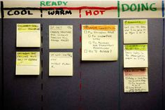 Use a Kanban board . | 23 Ingenious Ways To Work Smarter, Not Harder