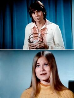 Davy Jones on The Brady Bunch Marsha Brady, Ann B Davis, Florence Henderson, Robert Reed, Maureen Mccormick, The Brady Bunch, Family Tv, Davy Jones, The Monkees