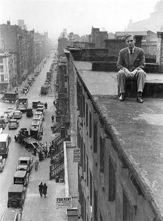 """ New York street scenes – Ephemeral New York Marcel Duchamp, New York Street, New York City, Cgi, Pix Art, Empire State Of Mind, Street Photographers, Vintage Photographs, White Photography"