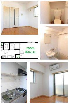 Tokyo Nakano Apartment for Rent ¥75,000 @Shinnnakano 4mins 21.75㎡ Ask to shion@jafnet.co.jp
