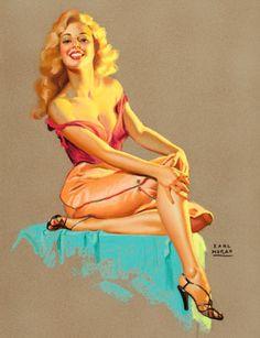 Marilyn Monroe, by Earl Moran