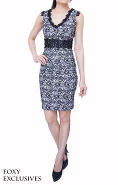 Valentine Lace Dress in Black, S$ 32.00