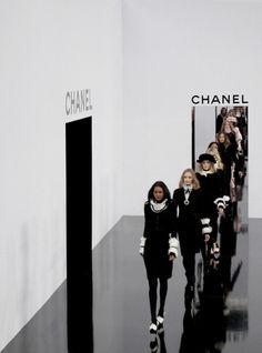 chanel, model, and runway Bild