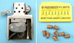 Zippo Lighter Conceals A 6mm Miniature Gun