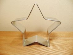 3.5 Star Shape Cookie Cutter Tin Baby Shower by CakeAndCandyDreams