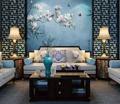 The Effective Pictures We Offer You About asian interior luxury A quality picture can tell you many things. You can find the most beautiful pictures that can be presented to you about asian interior z Asian Inspired Bedroom, Asian Bedroom Decor, Asian Inspired Decor, Asian Home Decor, Asian Style Bedrooms, Asian Wall Decor, Design Oriental, Oriental Decor, Living Room Designs