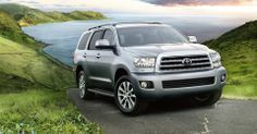 Toyota Sequoia Interior & Exterior Photos