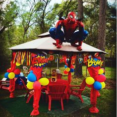 55 Trendy Ideas For Spiderman Birthday Party Games Ideas Spider Man Avengers Birthday, Superhero Birthday Party, Birthday Party Games, 6th Birthday Parties, Super Hero Birthday, Birthday Presents, Spiderman Birthday Ideas, Spy Party, Batman Party