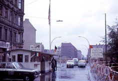 Checkpoint Charlie in Berlin, Germany, during the Cold War, I remember this well during my stay in It was like going through a time warp into the East! Checkpoint Charlie, West Berlin, Berlin Wall, East Germany, Berlin Germany, Munich, Great Places, Places To See, Istanbul Hotels