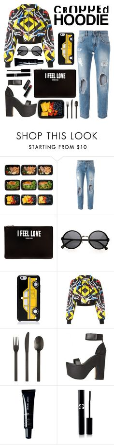 """Untitled #131"" by sandraindriani ❤ liked on Polyvore featuring FoodSaver, Dolce&Gabbana, Givenchy, Kate Spade, Moschino, CB2, Giorgio Armani, Sisley Paris and Bobbi Brown Cosmetics"