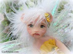 Sweet Mouse Faery Elf Fairy Pixie Magic Fantasy OOAK Art Doll by Liz Amend