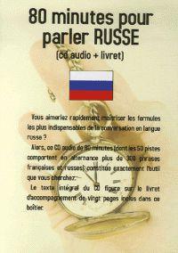 Jean-Pierre Vasseur - 80 minutes pour parler russe. 1 CD audio