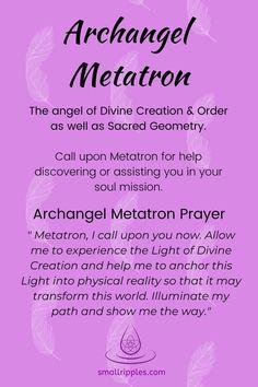 Spiritual Prayers, Prayers For Healing, Spiritual Awakening, Archangel Prayers, Archangel Uriel Prayer, Metatron Archangel, All Archangels, Angel Number Meanings, Prayer Quotes