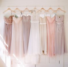 Wedding inspiration- love this colour palette and that dress!