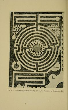 William Henry Matthews, Mazes and labyrinths; a general account of their history and developments, 1922 {via yama-bato} Labyrinths, Paths, Maze, History, Architecture, Crop Circles, Garden Design, Spirals, Author