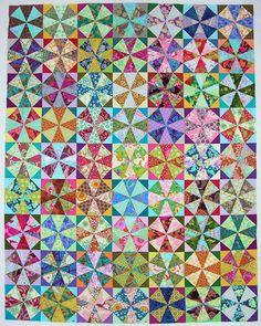 kaleidoscope quilt, so beautiful!