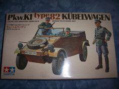 1970's Tamiya 1-35 Scale Pkw K1 type82 Kubelwagen by MyHillbillyWays on Etsy