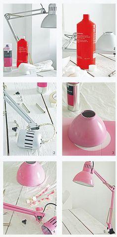 15 Bastelideen DIY Lampen selber machen - DIY Tischlampe