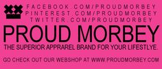 Express Proud Morbey. Express yourself. Look, feel, touch, experience our range of fine apparel for your lifestyle.