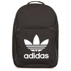 Trefoil Backpack by Adidas Originals ($30) ❤ liked on Polyvore featuring bags, backpacks and adidas