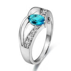 Marquise Gemstone Cubic Zirconia CZ Accent Wedding Ring China Manufacturer Wholesale