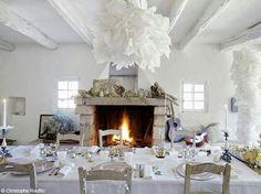 Winter Table Setting| Shabby Chic Mania