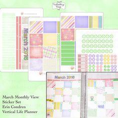 The Erin Condren Vertical Life Planner by VanDenBergeDesign
