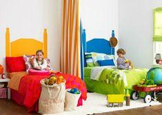 30 Ideen für Kinderzimmergestaltung  - kinderzimmer gestalten ideen deko mädchen junge bunt