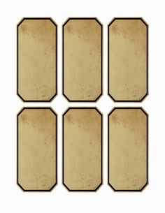 Blank Vintage Apothecary Labels Free jar apothecary labels 4.5