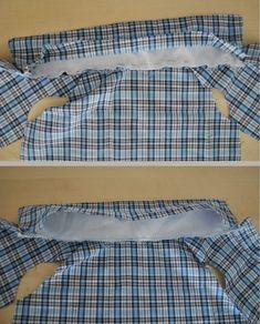 Colar de costura camisa