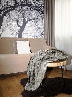 Drapery, Curtains, Roman Blinds, Decorative Cushions, Pent House, Luxury Living, Modern Design, Carpet, Blanket